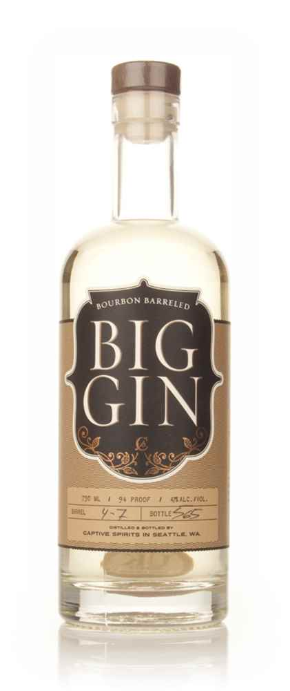 Bourbon Barreled Big Gin