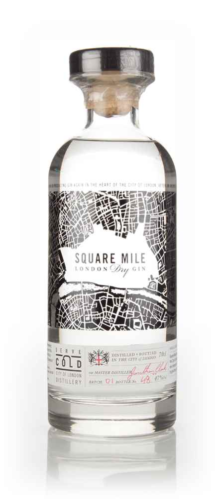 Square Mile London Dry Gin 47%