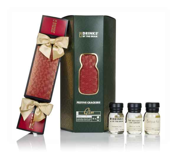Drinks by the Dram Gin Crackers (Set of 6)