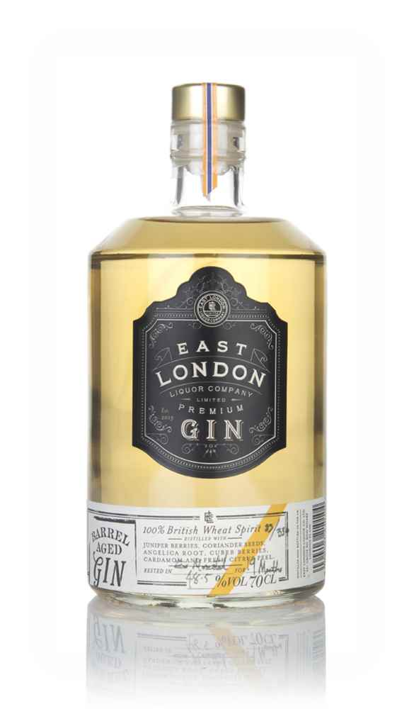 East London Liquor Company Barrel Aged Gin - Ex-Moscatel Cask