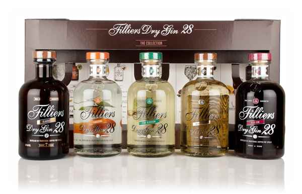 Filliers Dry Gin 28 - The Collection