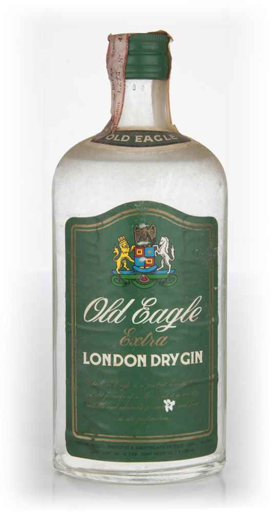 Old Eagle Gin - 1970s