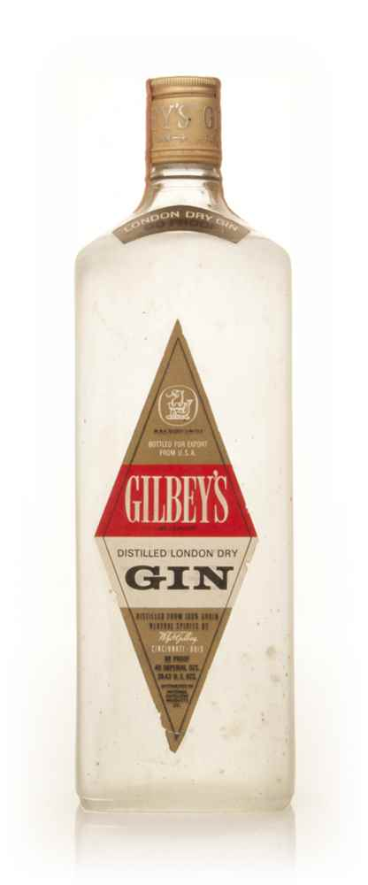Gilbey's London Dry Gin 1.18l - 1960s