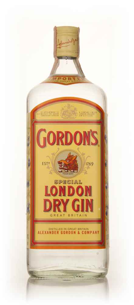 Gordon's London Dry Gin - 2000s