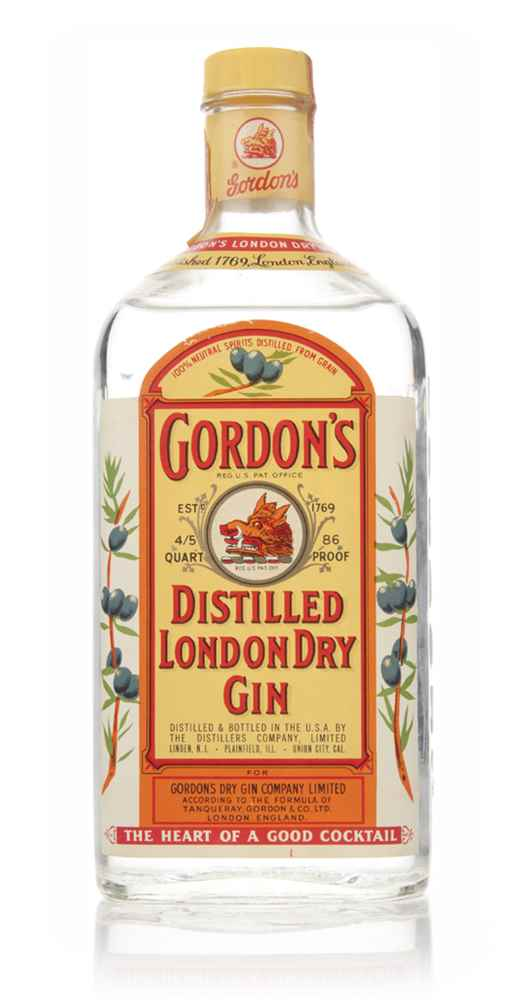 Gordon's London Dry Gin (75cl) - 1970s