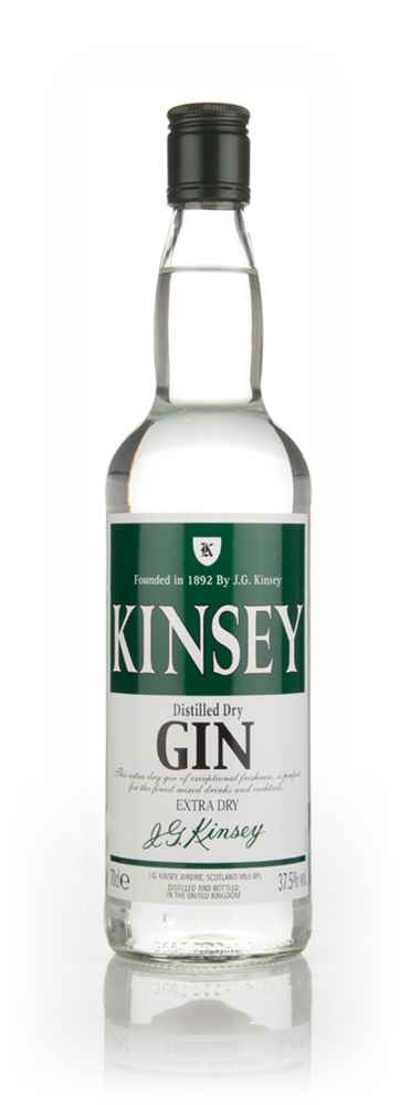 Kinsey Distilled Dry Gin
