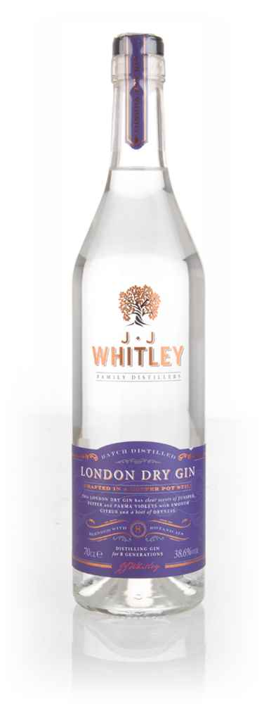 J.J. Whitley London Dry Gin (38.6%)