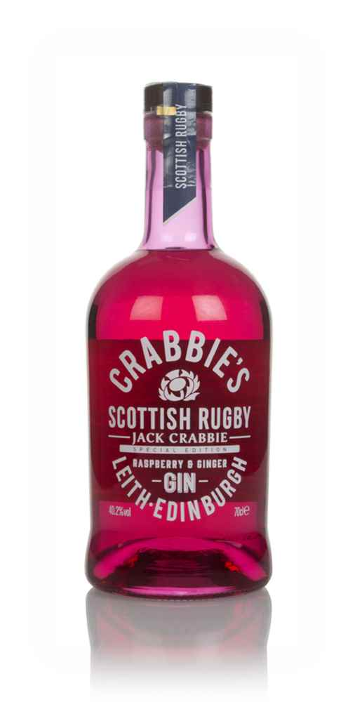 Crabbie's Scottish Rugby Raspberry & Ginger Gin