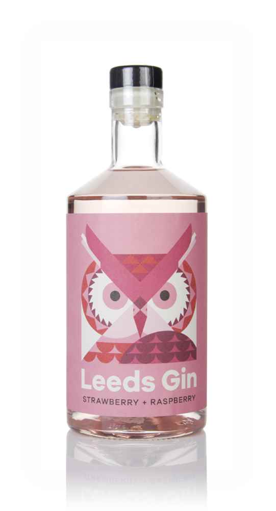 Leeds Gin Strawberry & Raspberry