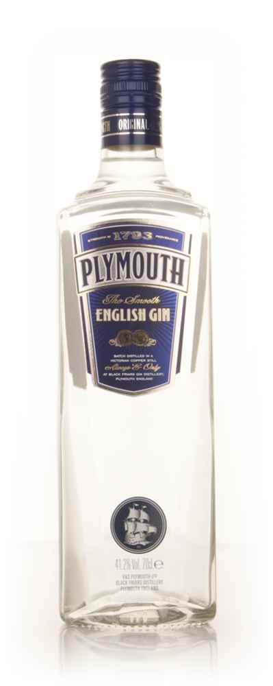 Plymouth English Gin (Old Style Label)