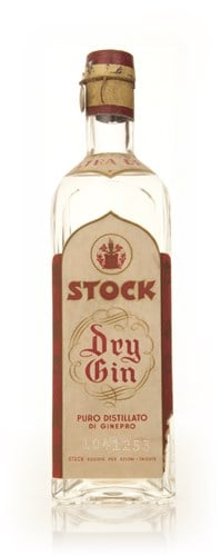 Stock Extra Dry Gin - 1949-59