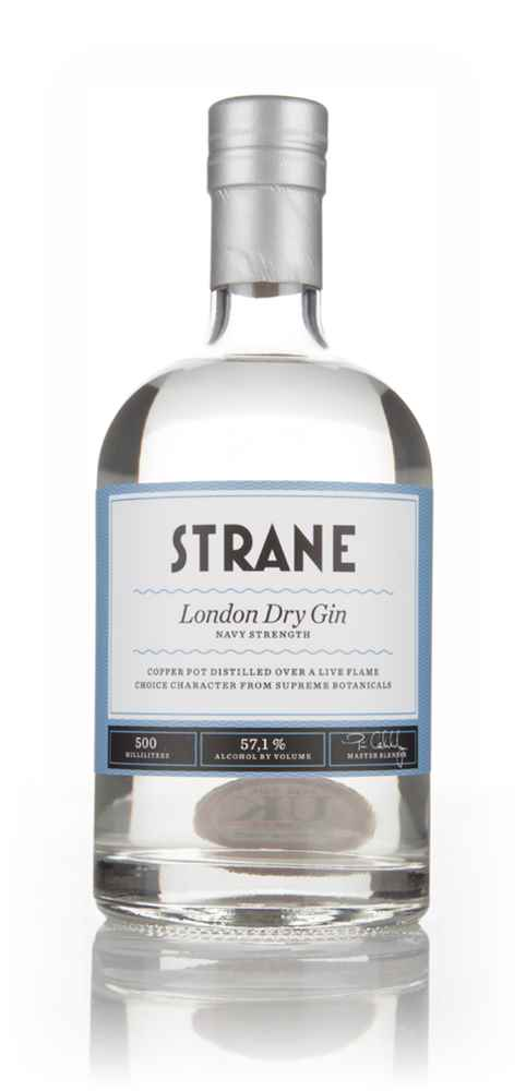 Strane London Dry Gin - Navy Strength