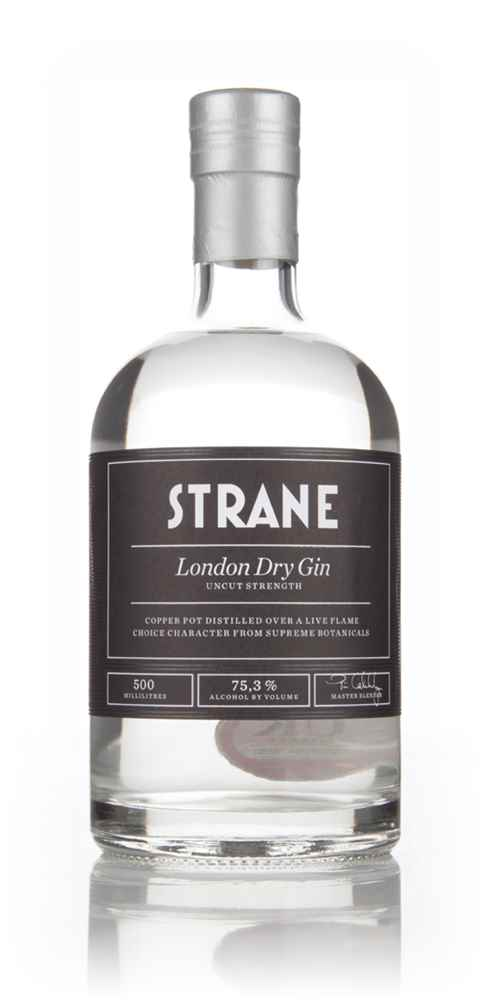 Strane London Dry Gin - Uncut Strength - 75.3%