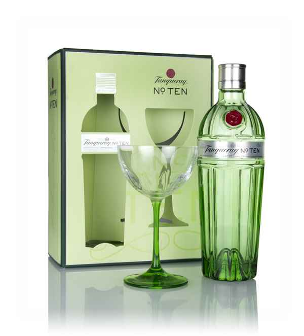 Tanqueray No. Ten Gift Pack with Coupette Glass