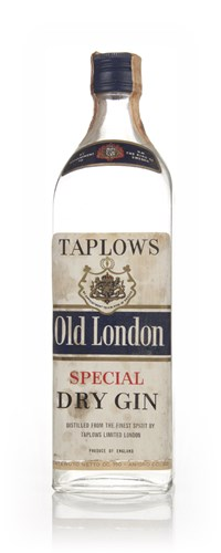 Taplows Old London Special Dry Gin - 1960s