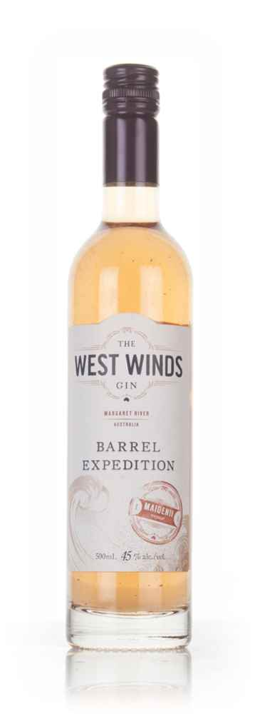 The West Winds Gin Barrel Expedition - Maidenii Voyage