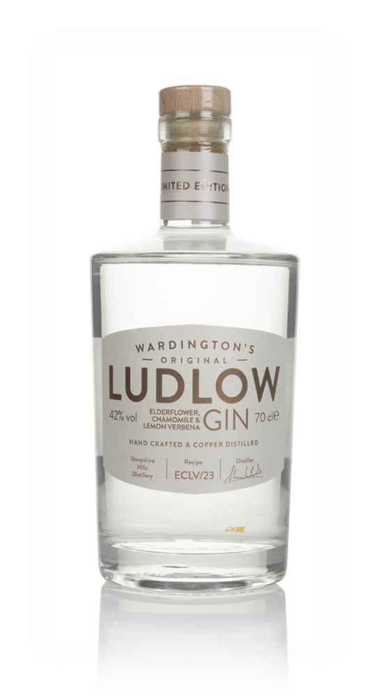 Wardington's Ludlow Gin - Elderflower, Chamomile & Lemon Verbena