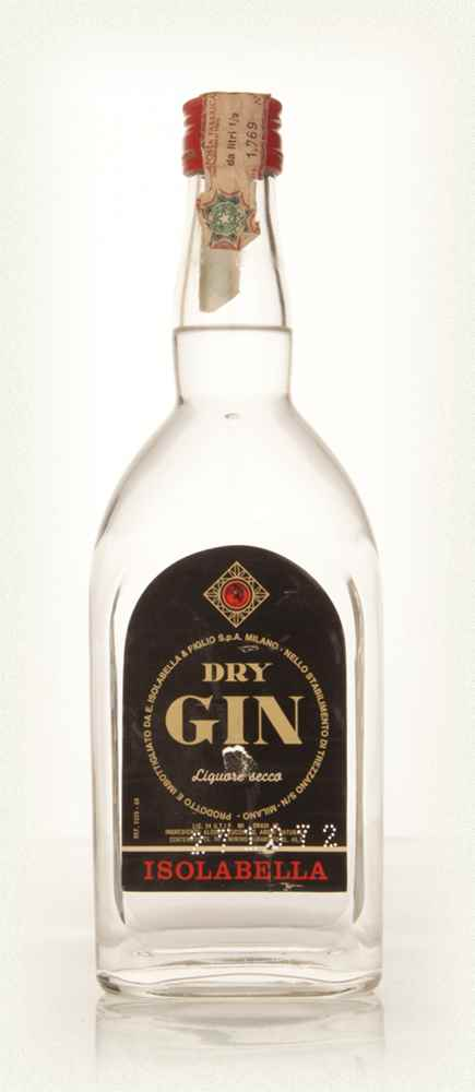 Isolabella Dry Gin - 1972