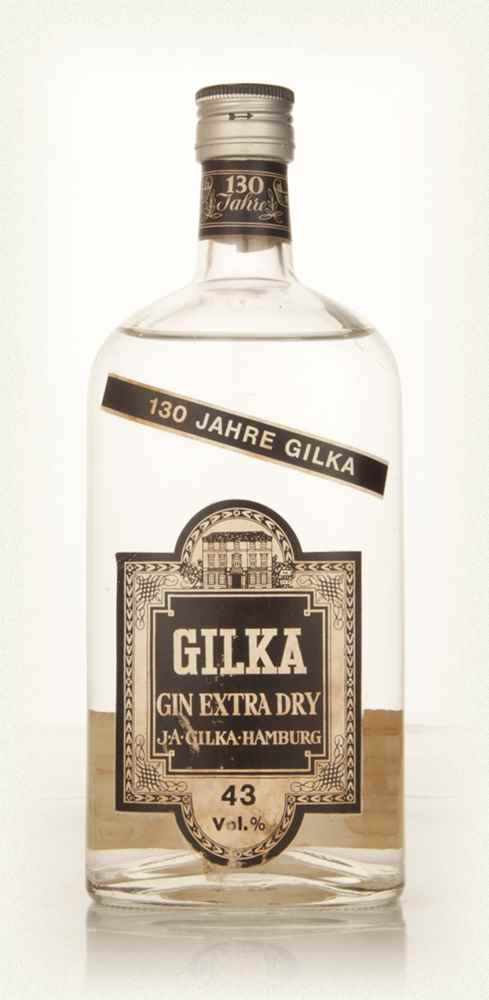 Gilka Extra Dry Gin - 1966
