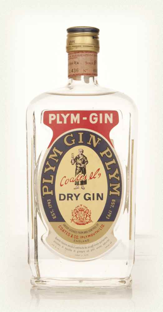 Plymouth Dry Gin - 1960s-70s