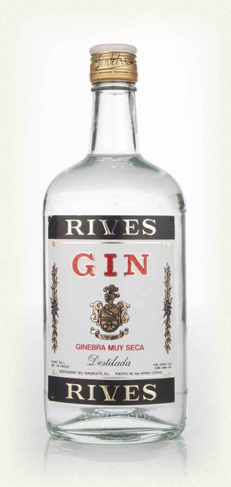 Rives Extra Dry Gin - 1980s