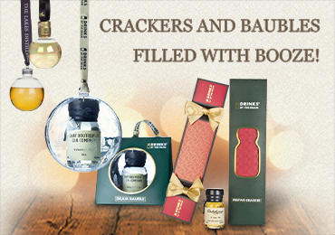 Booze-filled Crackers and Baubles!