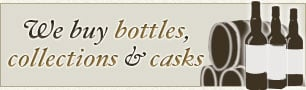 We buy bottles, collections and casks