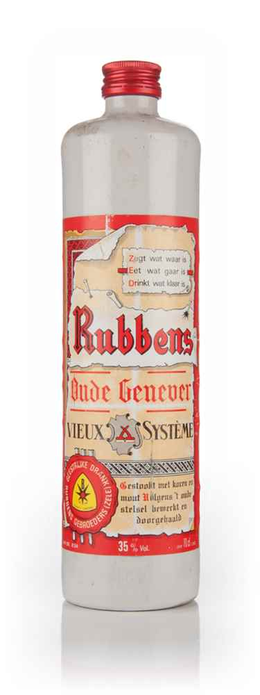 Rubbens Oude Genever - 1980s