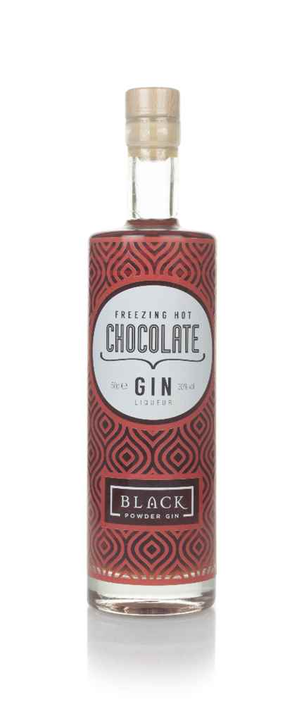 Black Powder Freezing Hot Chocolate Gin Liqueur