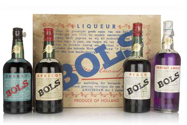Bols Liqueur Set (4 x 75cl) -1949