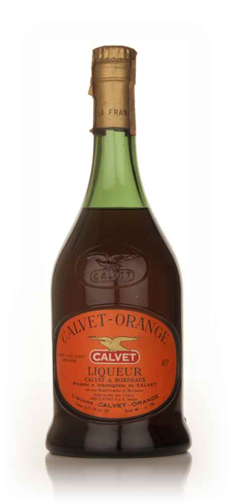 Calvet Orange Liqueur - 1960s