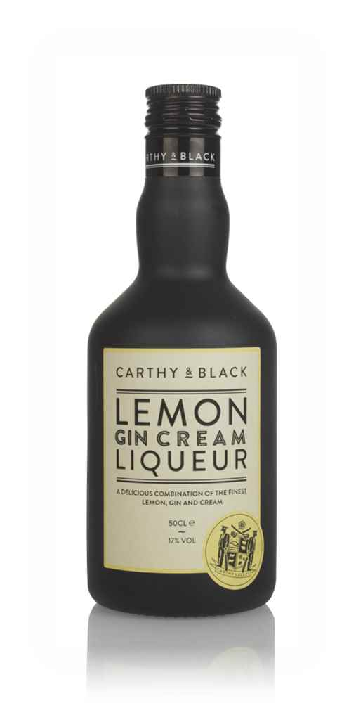 Carthy & Black Yorkshire Lemon Gin Cream Liqueur