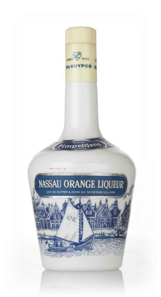 De Kuyper Nassau Orange Liqueur - 1970s