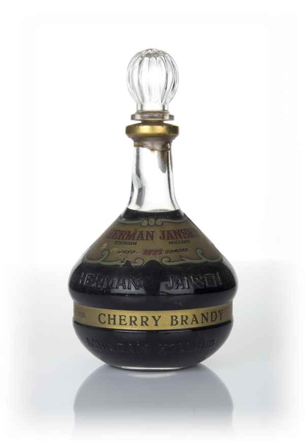 Herman Jansen Cherry Brandy - 1970s