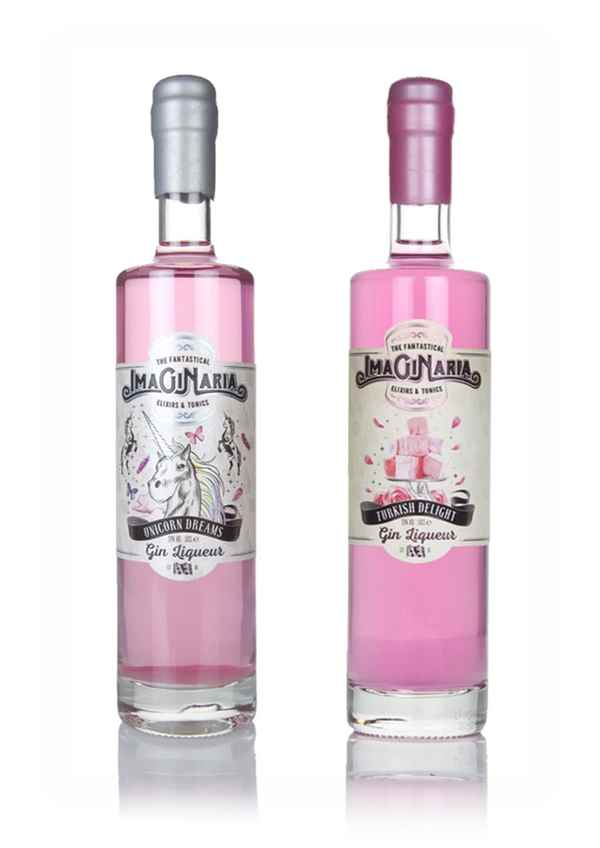 Imaginaria Unicorn Dreams Marshmallow and Turkish Delight - Gin Twin Bundle