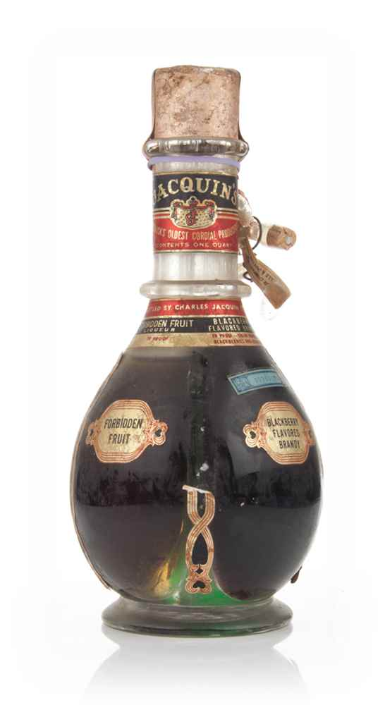 Charles Jacquin's Four Compartment Liqueur Bottle - 1950s
