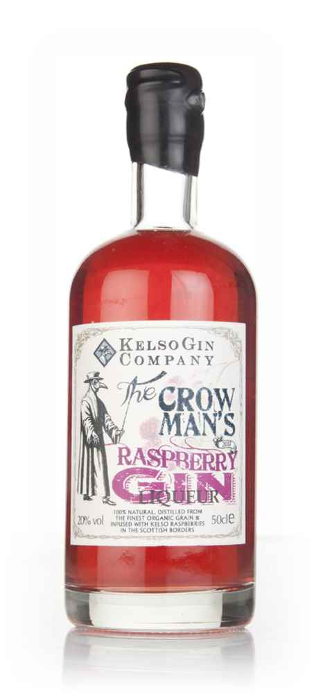 The Crow Man's Raspberry Gin Liqueur