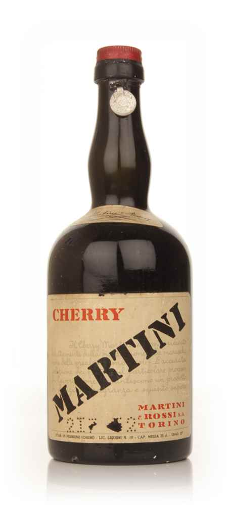 Martini and Rossi Cherry Liqueur - 1949-59