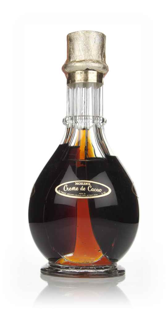 Mohawk Four Compartment Liqueur Bottle - 1950s