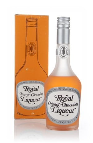 Peter Hallgarten Royal Orange-Chocolate Liqueur - 1970s