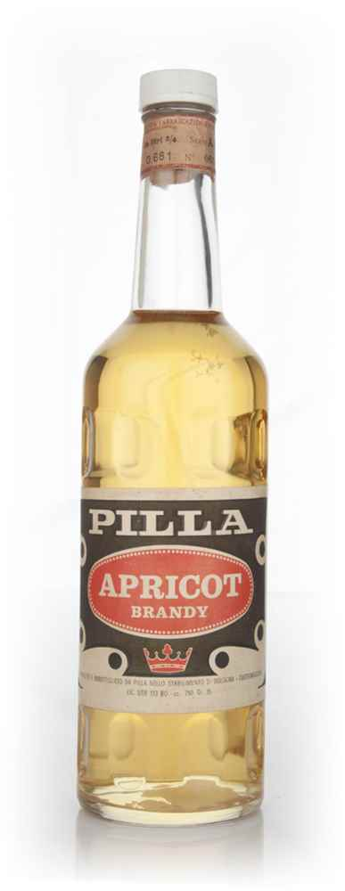Pilla Apricot Brandy - 1960s