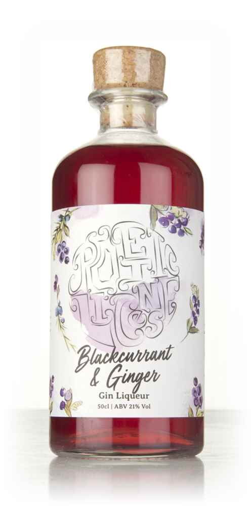 Poetic License Blackcurrant & Ginger Gin Liqueur