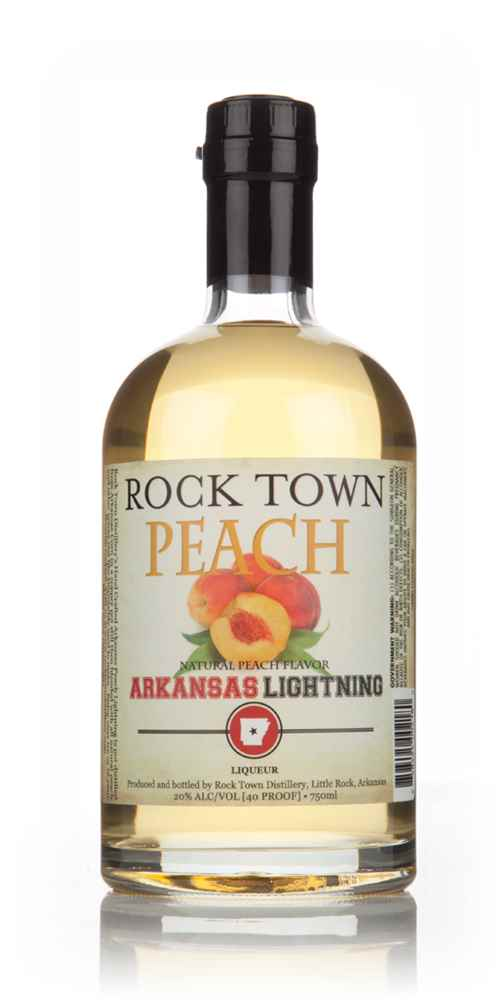 Rock Town Peach Flavoured Arkansas Lightning