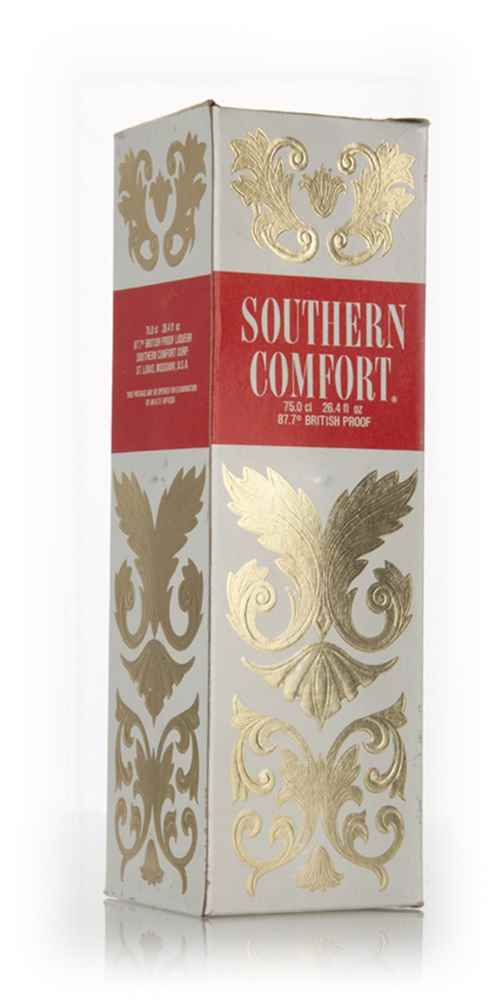 Southern Comfort 50% with box - 1970s