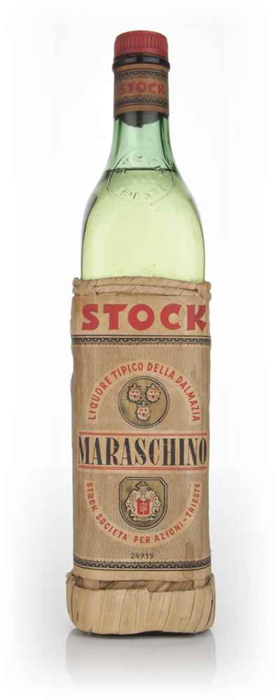 Stock Maraschino (3 Lion Label) - 1960s