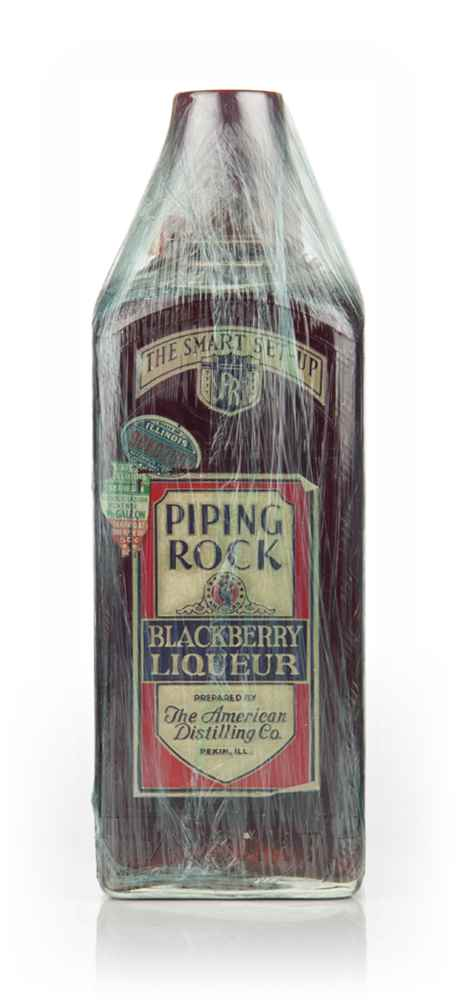 Piping Rock Blackberry Liqueur - 1940