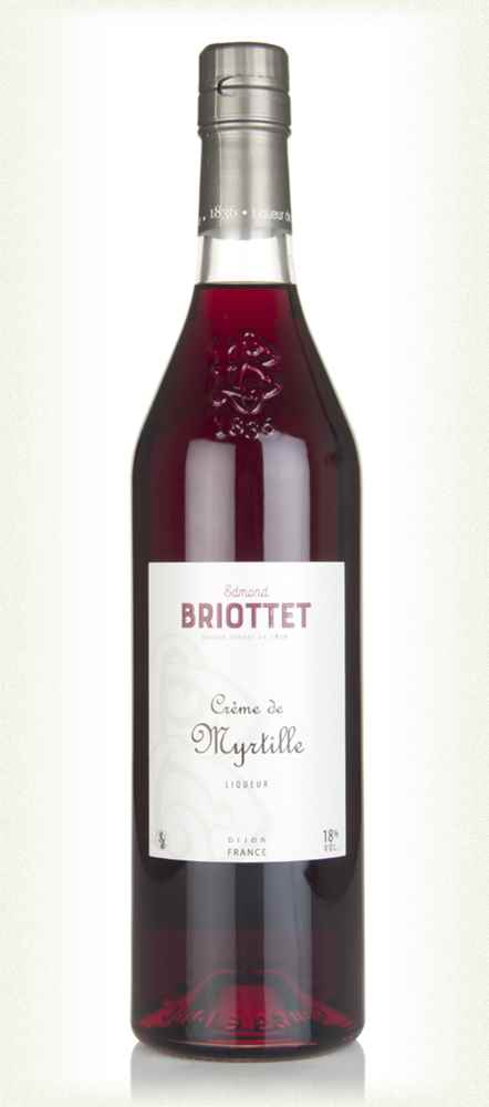 Edmond Briottet Créme de Myrtille (Blueberry Liqueur)
