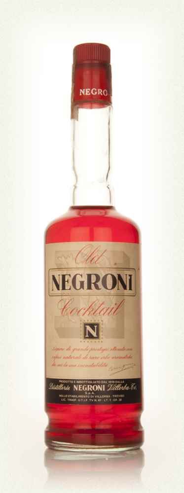 Old Negroni Cocktail - 1960s