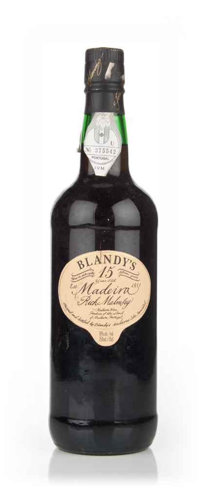 Blandy's 15 Year Old Rich Malmsey Madeira -1980s