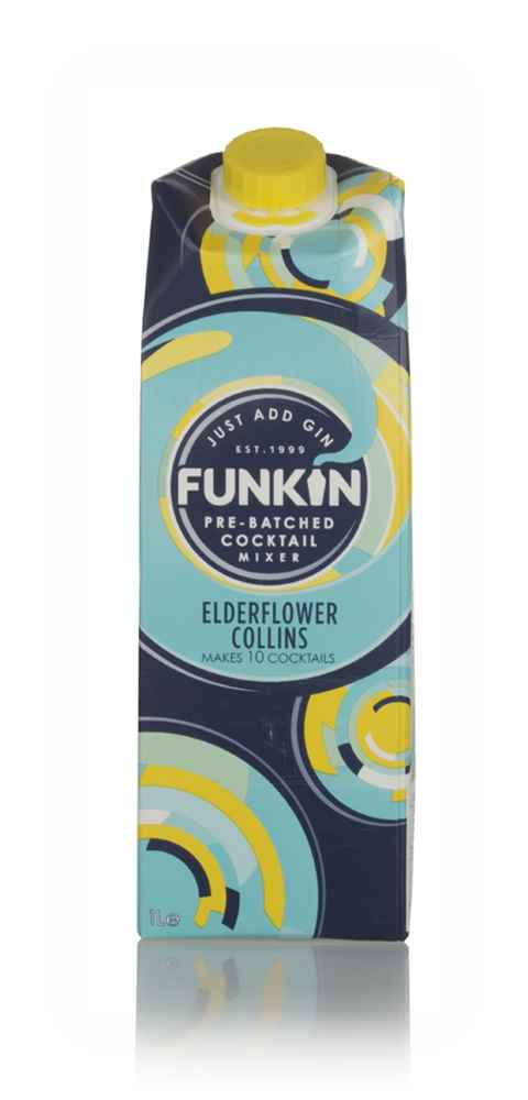 Funkin Elderflower Collins Cocktail Mixer
